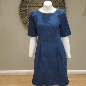 Boden Alice short sleeve denim dress